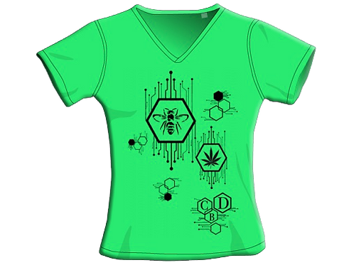 T-Shirt - Lime - Donna