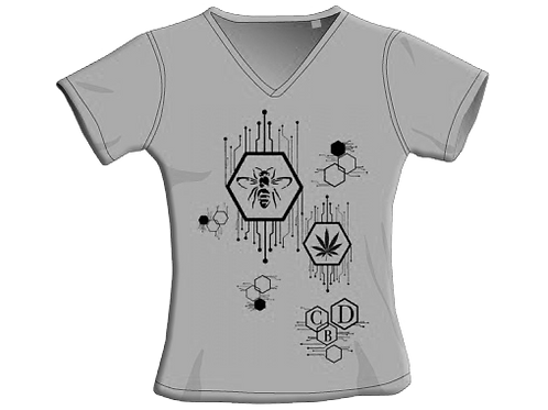 T-Shirt - Grey - Donna