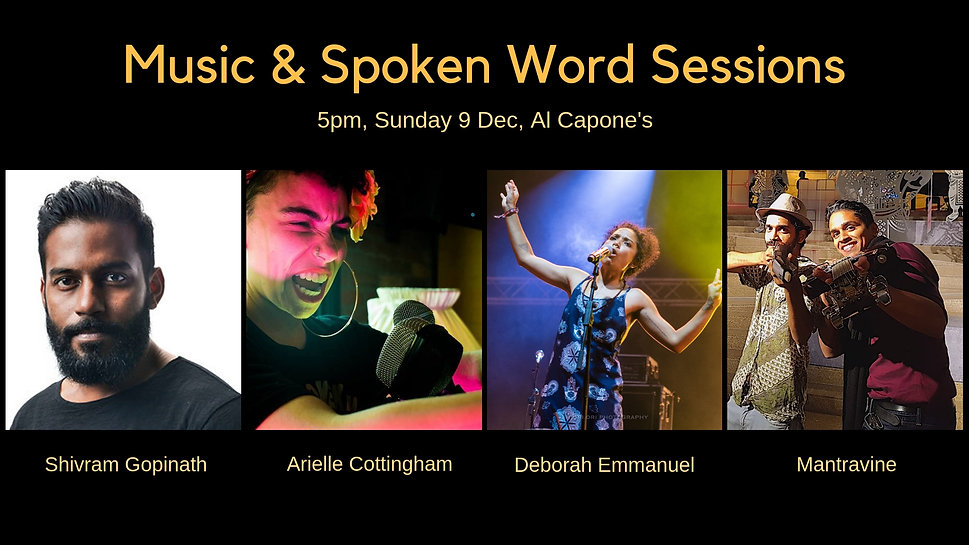 Music & Spoken Word Sessions - Facebook