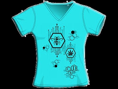 T-Shirt - Torquoise - Donna