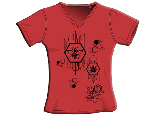 T-Shirt - Rosso - Donna