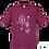 Thumbnail: T-Shirt - Burgundy - Uomo