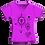 Thumbnail: T-Shirt - Fucsia - Donna