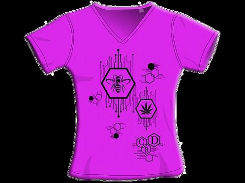 T-Shirt - Fucsia - Donna