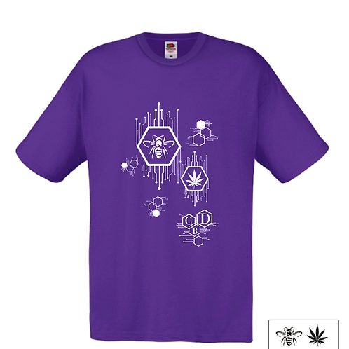 T-Shirt - Purple - Uomo