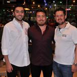 Matheus Neves, Bruno Sato e Beto Prado.J