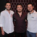 Matheus Neves, Bruno Sato e Beto Prado 2