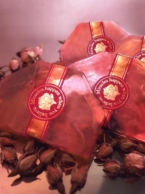 Hand Made Rose Soap 玫瑰香薰手工皂
