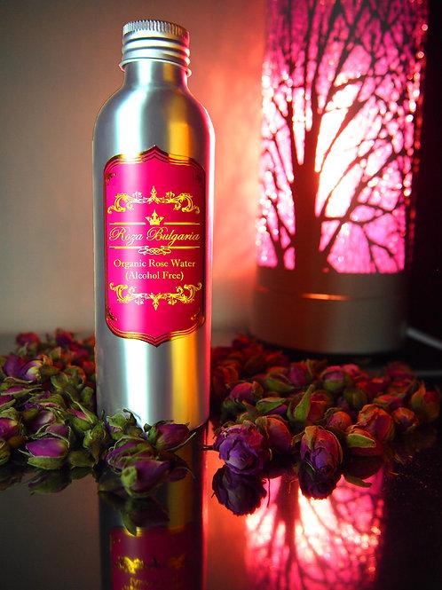 Organic Rose Water (Alcohol Free) 有機玫瑰花水(不含酒精)