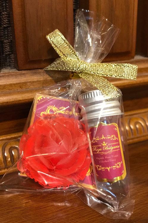 Wedding gifts (Organic Rose water + Hand Made Rose Soap) 結婚回禮小禮物 (有機玫瑰水和玫瑰手工皂)