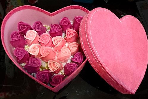 Roses Box (Heart Shape)