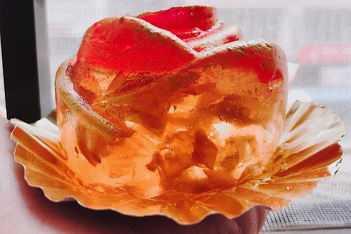 金箔有機玫瑰水晶球