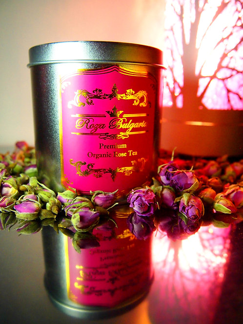 PREMIUM Organic Rose Tea 頂級有機玫瑰花茶(歐洲有機認證)