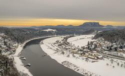 Kurort Rathen in winter