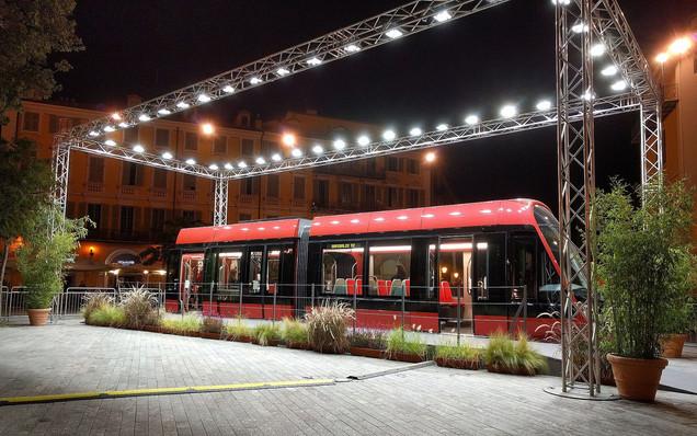 Nice Tramway Mockup Expo