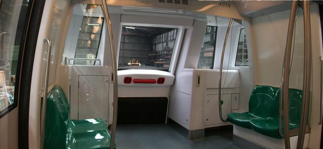 Singapore Metro Mockup Interior