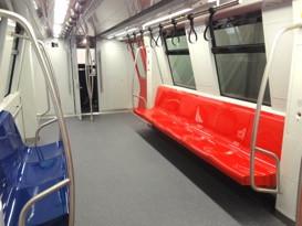 Los Teques Metro Mockup Seats