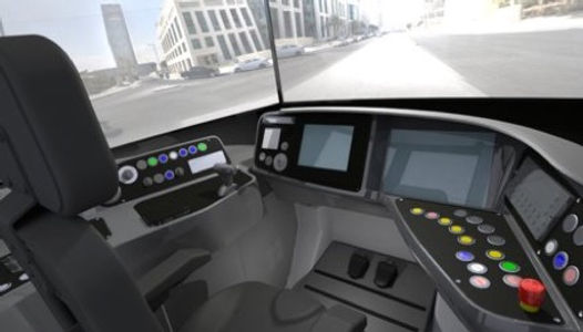 Lusail Simulator Cockpit