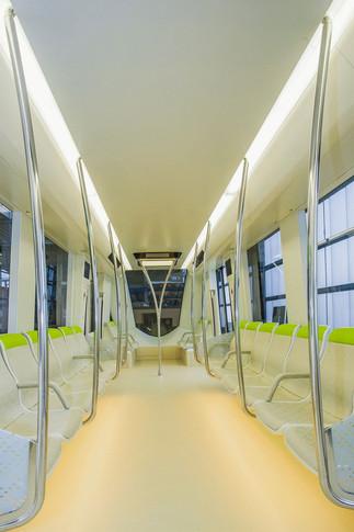 Riyadh Metro Mockup Passage