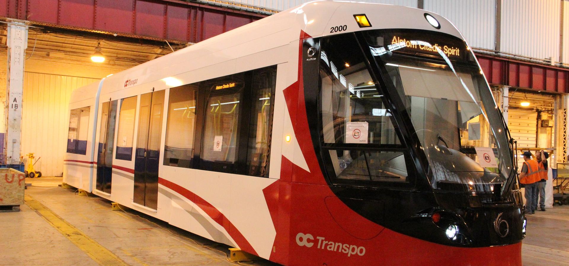 Ottawa Light Rail, 2013