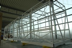 Ottawa Light Rail Mockup Structure