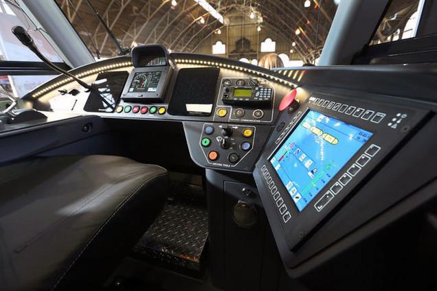 Ottawa Light Rail Mockup Driver Desk