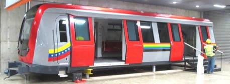 Los Teques Metro Mockup Car