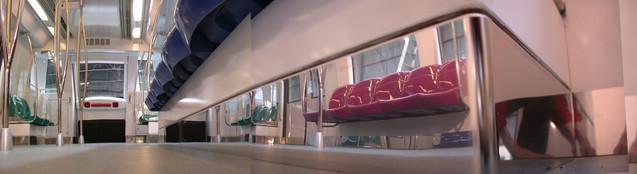 Singapore Metro Mockup Seats