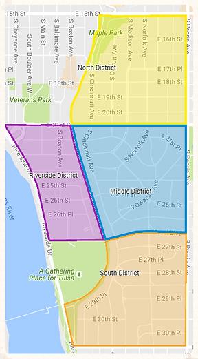 map of maple ridge neighborhood