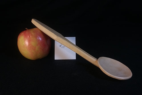 Pear wood Cawl Spoon, free shipping in continental USA
