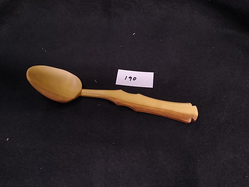 "#190 Soup spoon, apple, 8.25"", free shipping in continental USA"