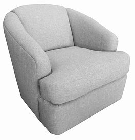 9647 Liana Swivel Barrel by Bella Furniture Home