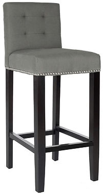 Sienna Tufted Back Stool by Bella Furniture Home