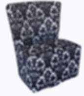9625 Ambra Armeless Swivel Chair by Bella Furniture Home