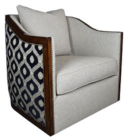 Bella Furniture I 9708 Belvedere Swivel