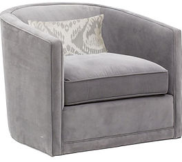 Sydney Swivel Chair by Bella Furniture Home