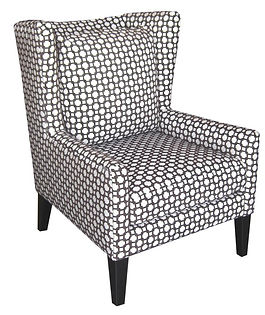 9802 Windsor Wing Char by Bella Furniture Home