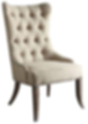 Cara Wing Chair by Bella Furniture Home