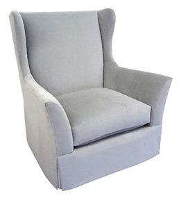 Mila Swivel Glider Chair by Bella Furniture Home
