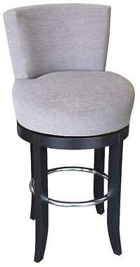 Round Swivel Stool by Bella Furniture Home