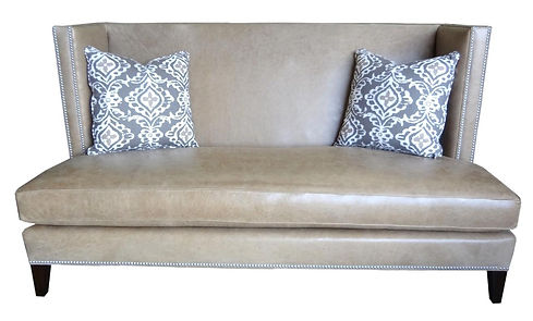 Lydia Settee by Bella Furniture Home