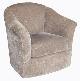 9825 Mia Swivel Barrell by Bella Furniture Home