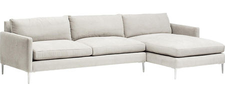 Seville Sectional by Bella Furniture Home