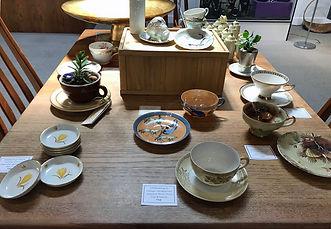 Gold Leaf & Alter Gallery Vintage China