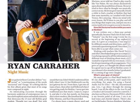 Vintage Guitar Magazine Interview