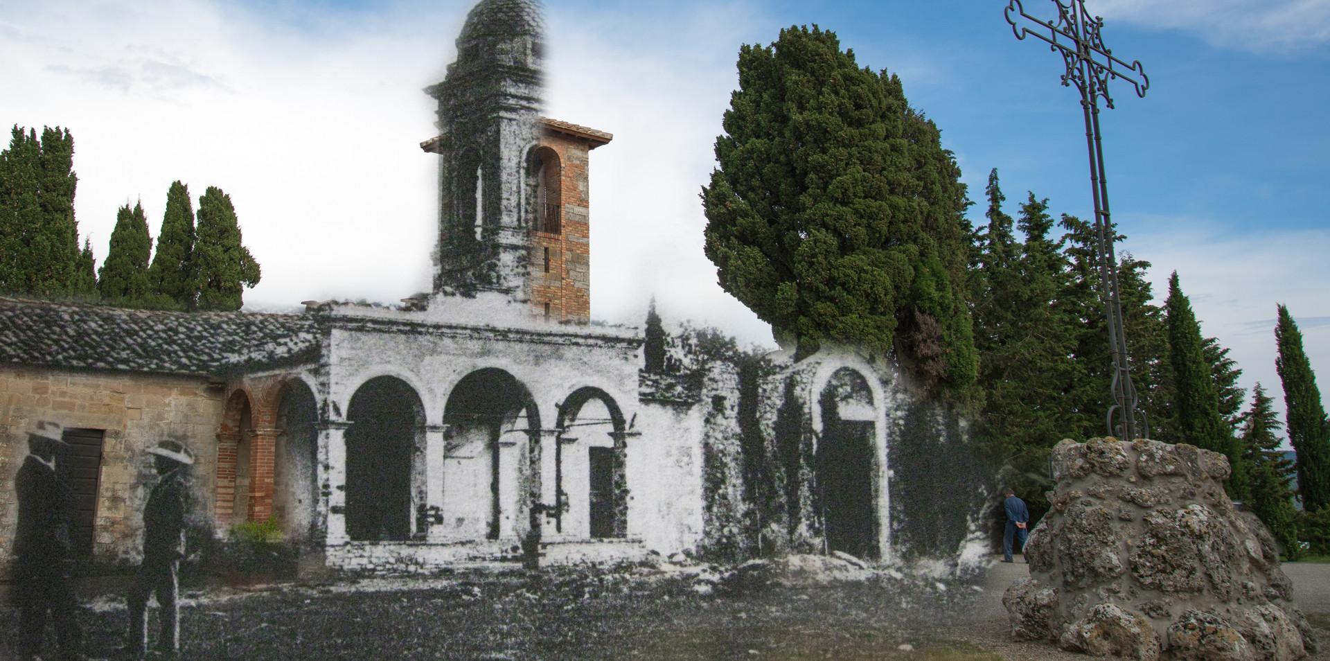 Persone presso Chiesa cimitero S. Niccolò