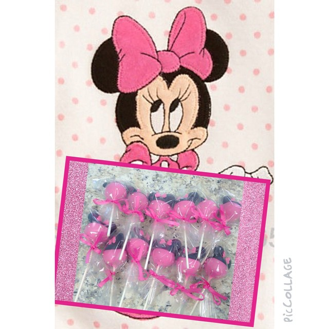Minnie Cakepops
