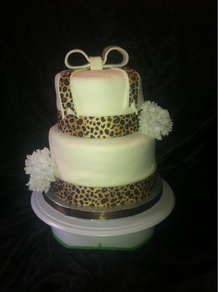 Zebra Custom Cake