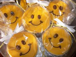 Custom Sun Cookies