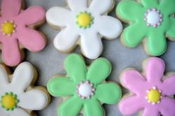 Custom Flower Cookies